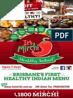 Indian Food Takeaway Brisbane - It's Mirchi Indian Restaurant