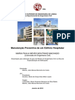 Manutenção Preventivas Em Infraestrutura