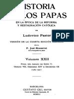 PASTOR-Historia de los Papas 22