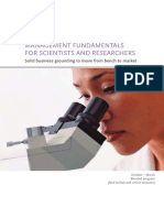 Management for Scientists & Researchers Brochure - Yearly
