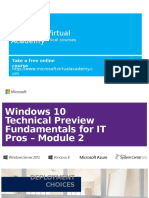 Windows 10 TechPreview Module 2