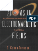 Atoms In Electromagnetic Fields 2nd