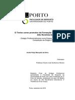 Relatório Mestrado André Mesquita (2015) - DFCustóias