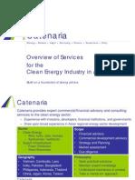 Catenaria Overview CE(8)