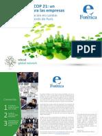 Guía Empresas Cop21 Foretica