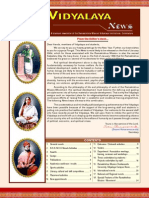 Vidyalaya Alumni Newsletter - Jul-Dec 2008 Issue