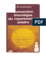 Conversion Thermique Rayonnement Solaire Chasseriaux