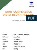 Joint Konferensi Plastik