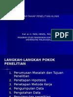 Blok8PSPD Tahap-tahap Penelitian Klinik
