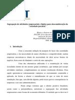 Maria Rita Ferragut - Segregação Atividade