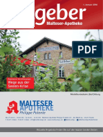 Ratgeber aus Ihrer Malteser-Apotheke – Januar 2016
