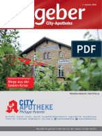 Ratgeber aus Ihrer City-Apotheke – Januar 2016