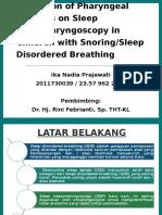 PPT Jurnal - Sleep Disordered Breathing