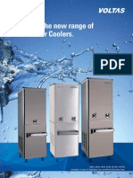 Catalogue of Voltas Water Cooler