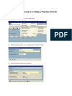 ABAP_FunctionalModule
