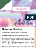 KP 5.9 , 5.10 , 5.11 Respirasi Dr. Marliza, SpP