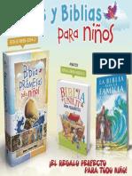 Libros y Biblias para niños