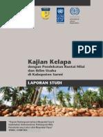 "Kajian Kelapa dengan Pendekatan Rantai Nilai  dan Iklim Usaha  di Kabupaten Sarmi  ""Program Pembangunan berbasis Masyarakat Fase II"
