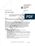 Policy Memorandum Social Networking Site Redacted