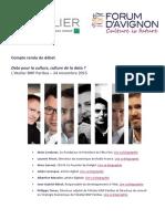 Compte-rendu #DébatsFA 24/11 avec L'Atelier BNP Paribas