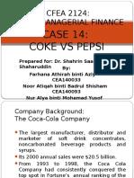 CASE 14 Coke vs Pepsi
