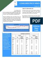 151015 Consumer Price Index - Oct 15