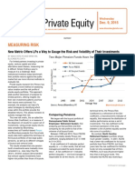 New Metric Offers LPs a Way to Gauge the Risk and Volatility of Their Investments