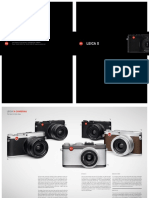 Brochure Leica X En