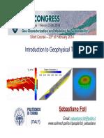 Foti OverviewGeophysicalMethods