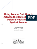 david berceli webinar notes, trauma releasing exercises notes