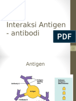 INTERAKSI antigan-antibodi
