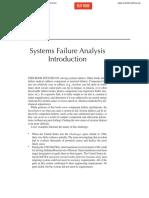System Failure Analysis