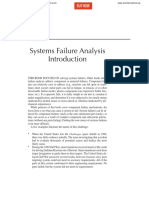 System Failure Analysis