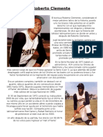 reading test-roberto clemente