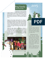 chris ruffing christmas newsletter