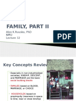 An 100 Lec 31 Families PART II