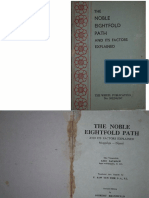 Ledi Noble Eightfold Path and Its Factors Explained