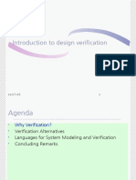 Introduction to Design Verification