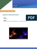 Tutorials Abstrakt Elektroabstraktion