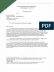 Letter to Bob Quinn