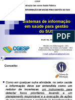 Sistemas de Informaçao Em Saúde