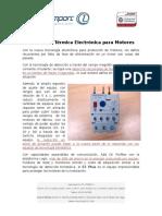 Protección Térmica Electrónica Para Motores