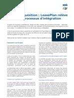 Lean-Six Sigma | Lease Plan relève le défi du processus d'intégration