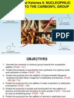 Aldehyde, Ketone II Chm556