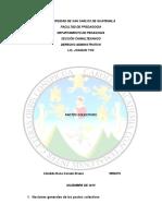 Nociones Generales de Los Pactos Colectivos