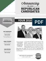 South Dakota District 34 GOP Newsletter