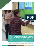 2014-2015 Crossroads School Annual Report