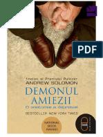 Andrew Solomon - Demonul Amiezii