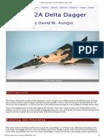 F-102a Delta Dagger Tan Color Used is Fs20400 Buttescotch