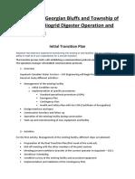 Aquatech Transition Plan